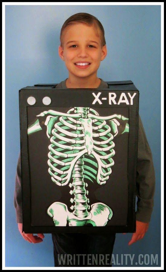 DIY X-Ray Costume