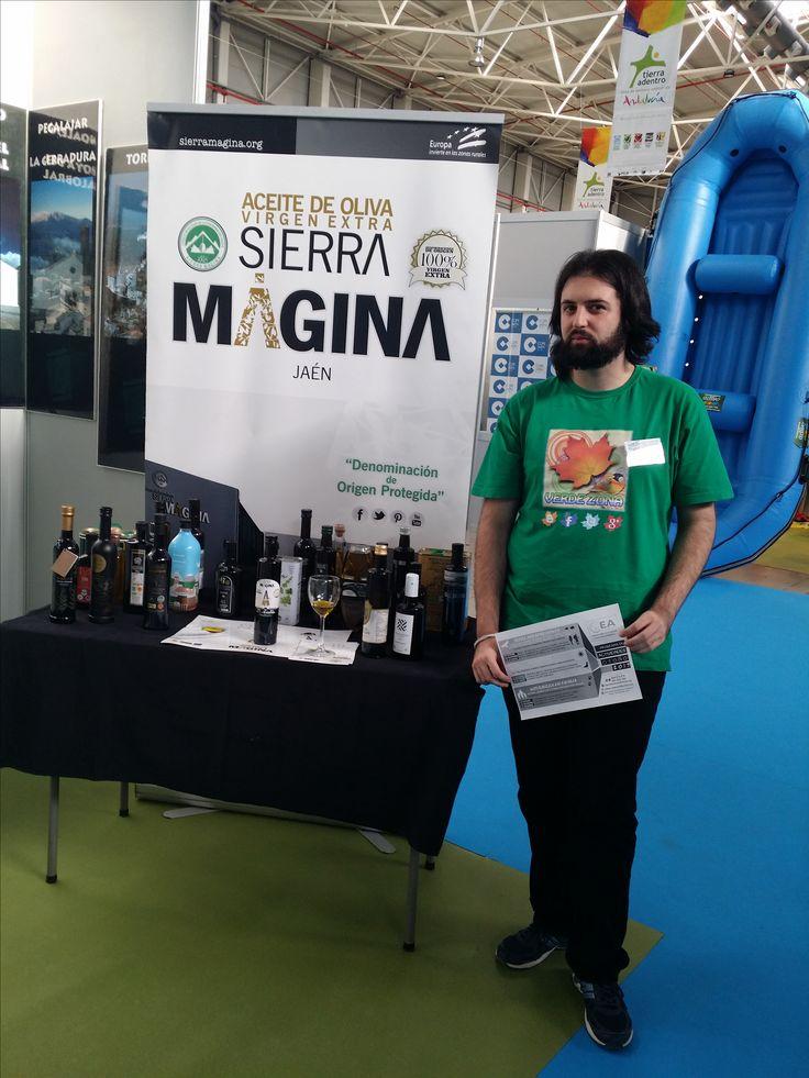 El pasado fin de semana tuvimos la suerte de poder asistir a Tierra Adentro.  XVI Feria de Turismo Interior de Andalucía gracias a CE2A El Acebuche.  Una buena mañana conociendo lugares muy interesantes y gente nueva.