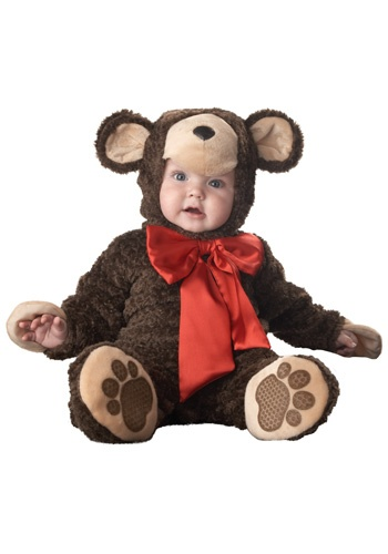 Aunt Heather requested that Katie wear a bear costume for her graduation...