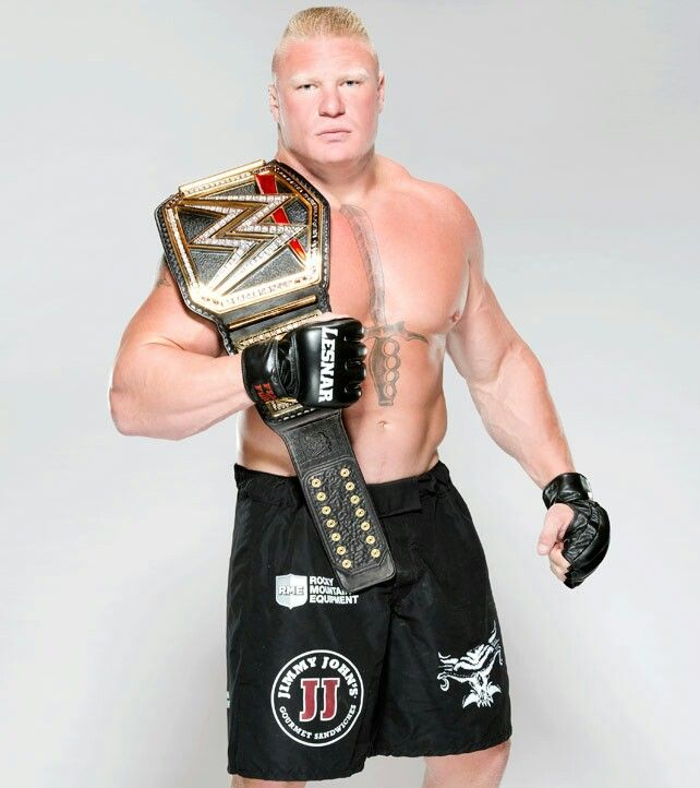 Brock Lesnar WWE World Heavyweight Champion