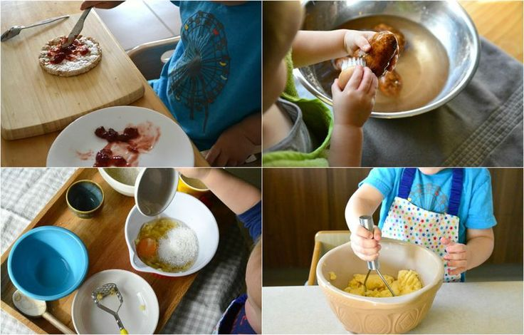What a toddler can do in the kitchen at How we Montessori part 3