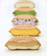 Monaka(been jam filled wafers), Japanese sweets
