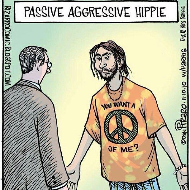 The Passive a Aggressive Hippie