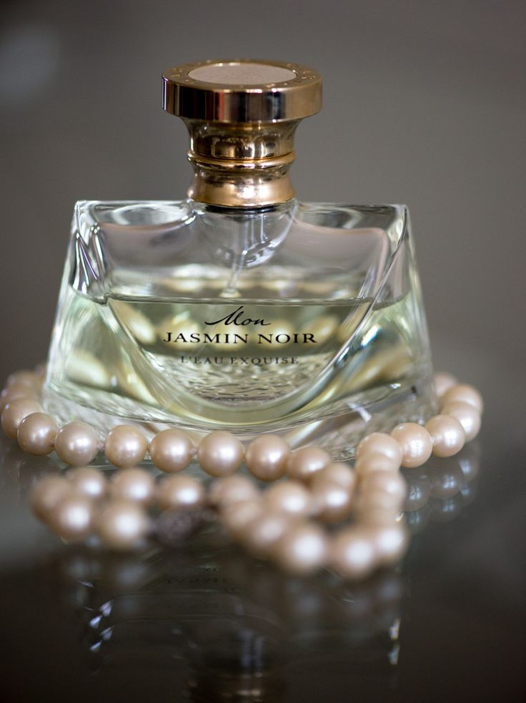 Perfume and pearls, what every woman needs.   Photo by Evelyn Rampola