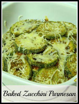 Baked Zucchini Parmesan | Baked Zucchini Parmesan, Zucchini Parmesan ...