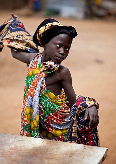 "Democratic Republic of Congo  Olongba, Ituri Provence  ""Dancing Princess"" - DR CONGO -"