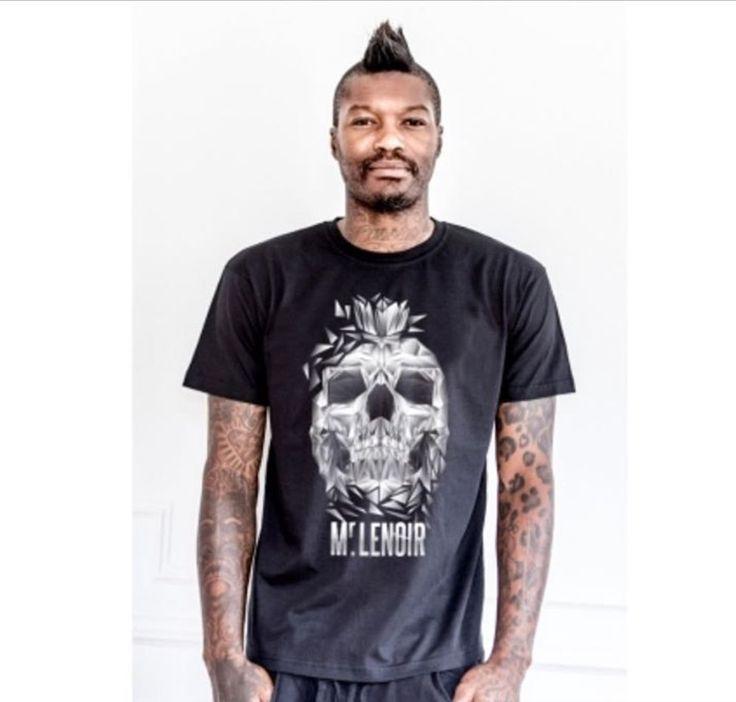 Djibril Cissé dévoile la nouvelle collection de sa marque de vêtements Mr Lenoir.