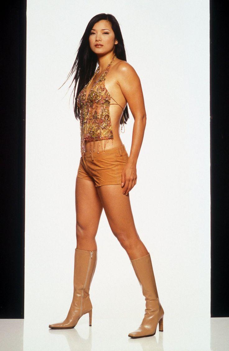 Kelly Hu #KellyHu #FamousBeauty