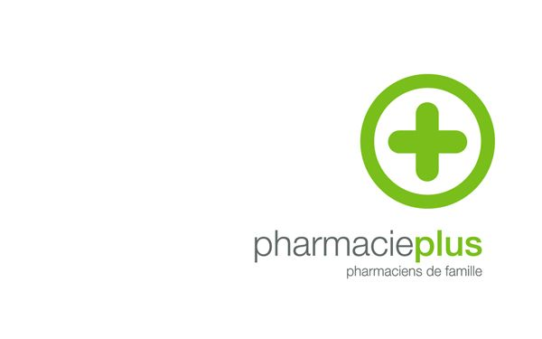 Pharmacie Plus by Alexandre Henriques, via Behance