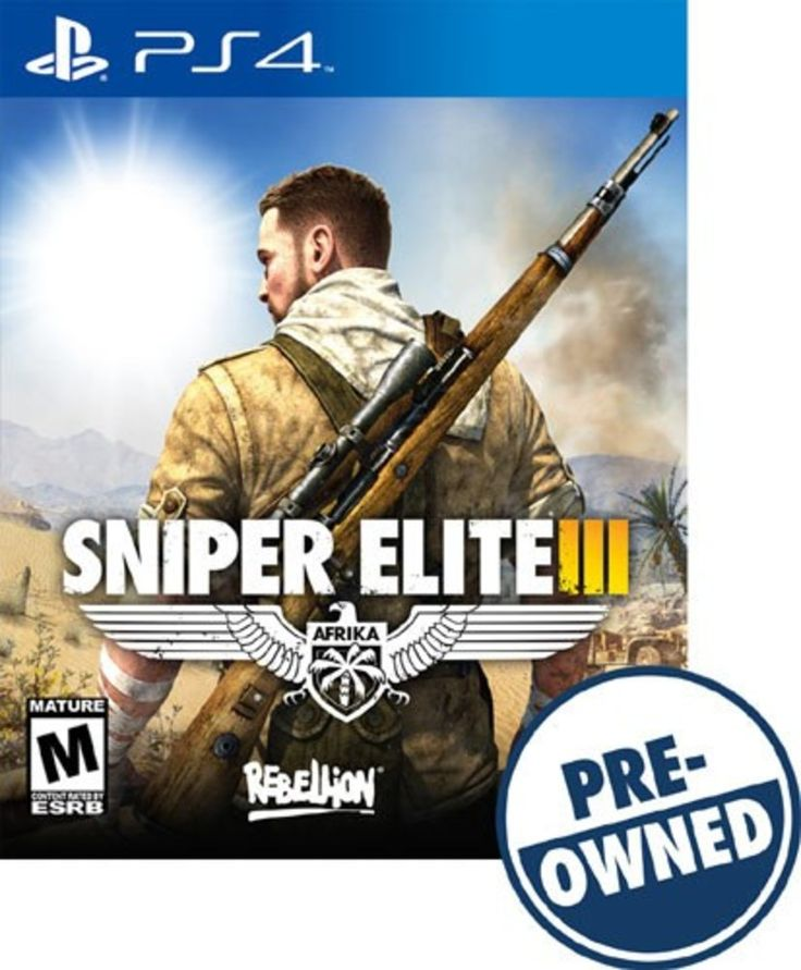 Sniper Elite III: Afrika - PRE-Owned - PlayStation 4, PREOWNED