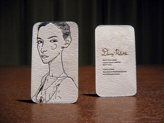 high fashion business cards
