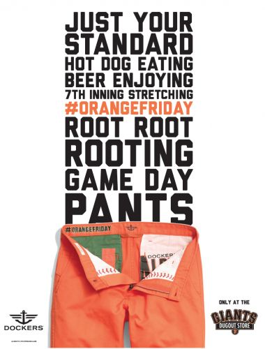 Levi's SF Giants pants at the Dugout Store