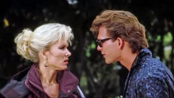 Cynthia Rhodes and Patrick Swayze from scene Dirty Dancing