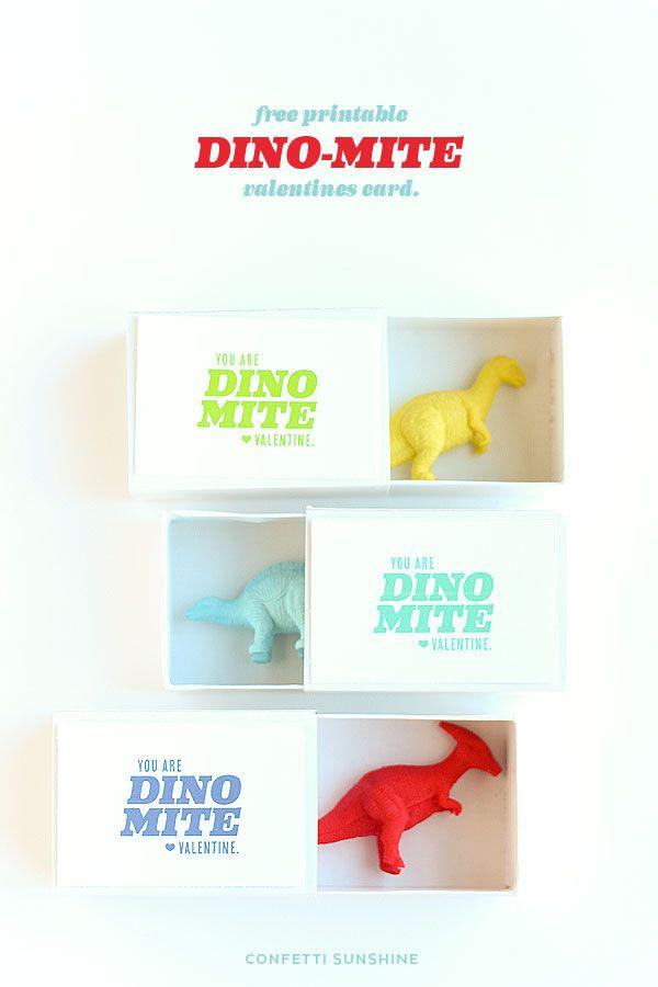 You are Dino-Mite! Non Candy Valentines Ideas   Confetti Sunshine