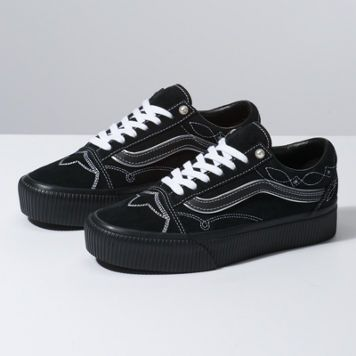 3a4faa94b46 Pearly Punk Old Skool Platform