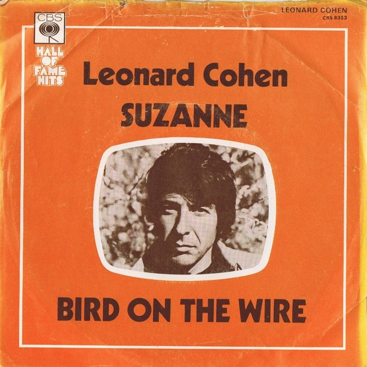 Leonard Cohen - Single - Suzanne / Bird on the wire - 1968
