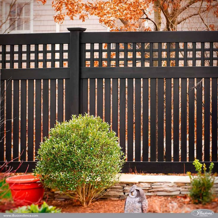 Awesome Illusions PVC Vinyl Fence Ideas and