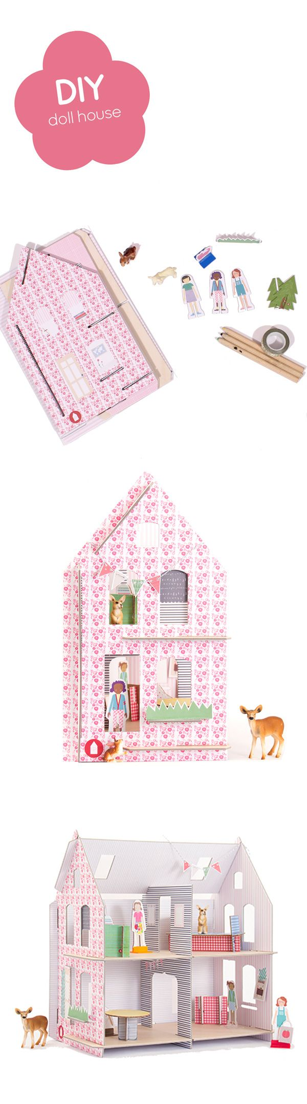 diy dollhouse to make and play with lillehuset