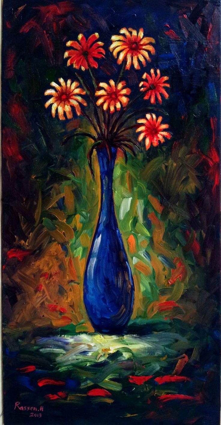 Still Life (Vase) by Rassen Haddad 2013