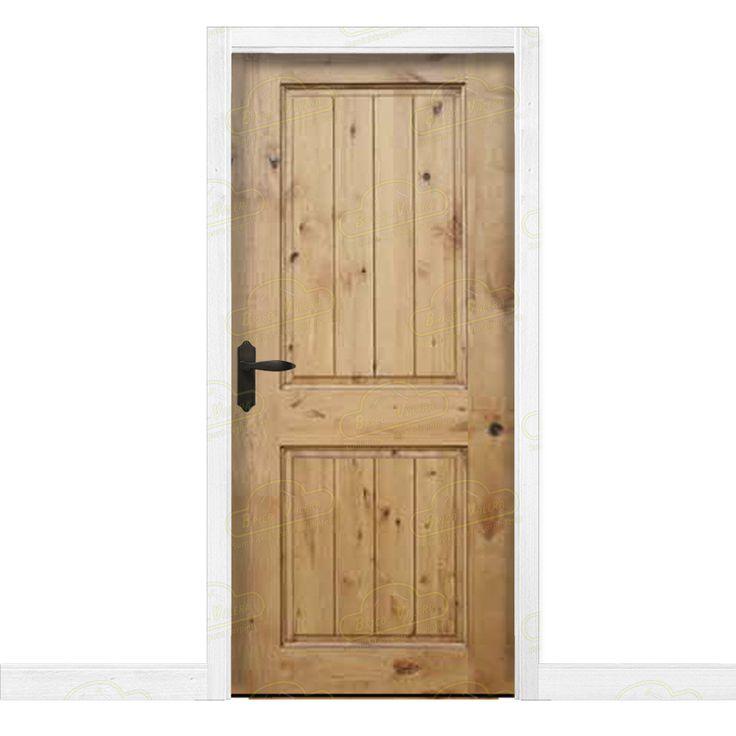 31 best puertas de interior images on pinterest for Puertas rusticas de madera