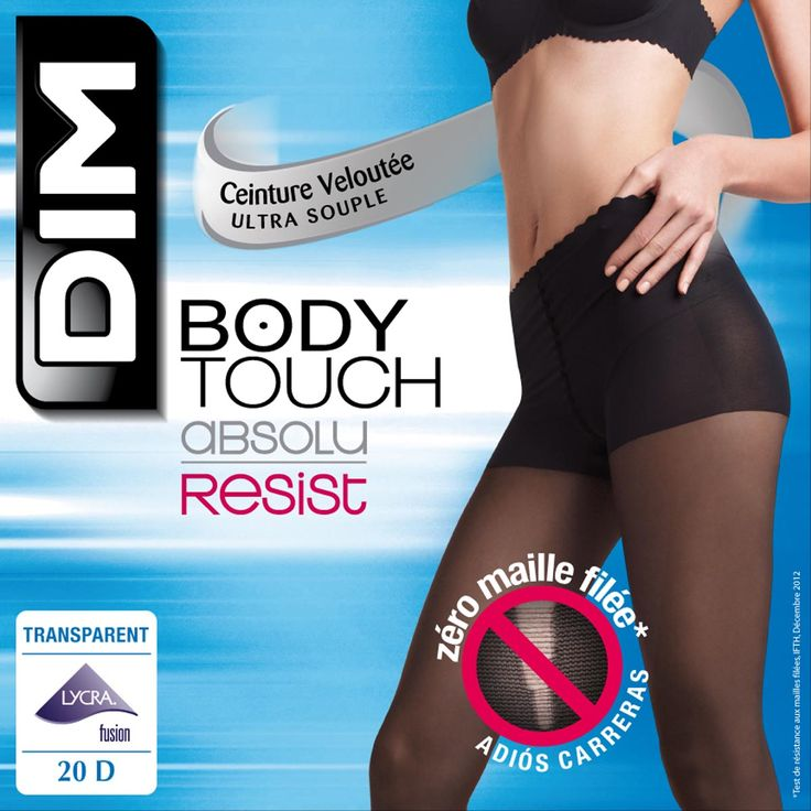 Collant Body Touch 20D Absolu Resist, Beige naturel, DIM