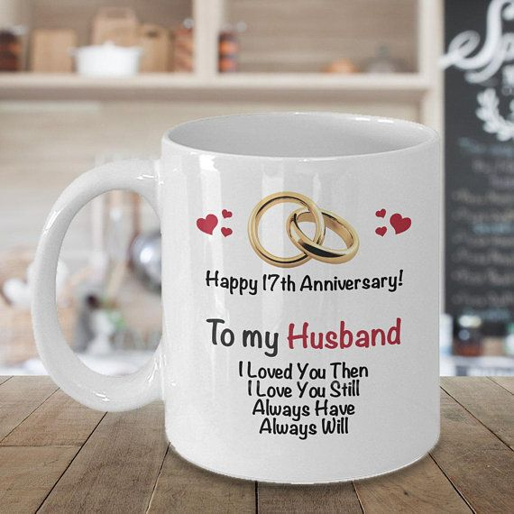 17th Anniversary Gift Ideas For Husband 17th Wedding Anniversary Gift Married 17 Yea 11th Wedding Anniversary Gift Anniversary Gifts 16th Anniversary Gifts