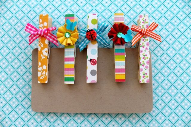Masterpiece Monday - Magnetic Peg Clips