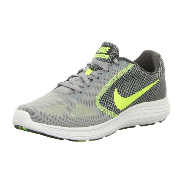 NEU: Nike Sneaker Revolution3 - 819300 013 - stealth / volt-anthracite-white