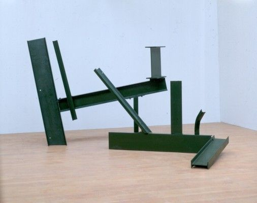 Anthony Caro, Sculpture Two, 1962, steel, 208 x 361 x 259cm. Photograph: John Riddy, Courtesy of Barford Sculptures