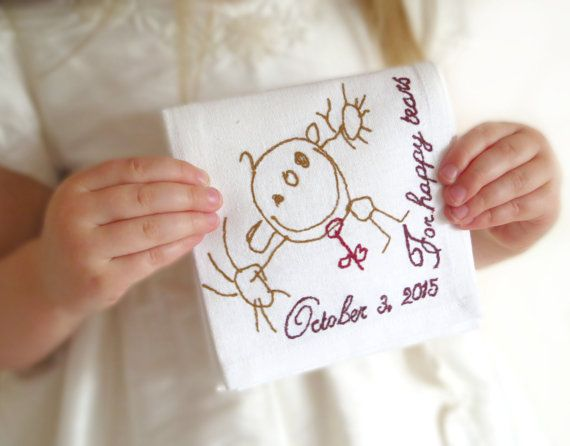 Wedding Gifts For Parents Handkerchief : ... handkerchief wedding gift for groom from bride wedding hankie wedding