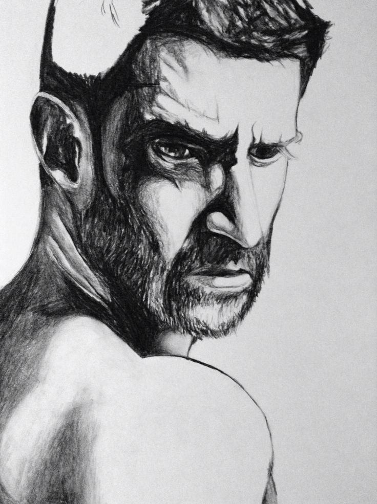 Half finished Richard Armitage