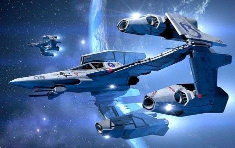 Как рисовать космический корабль