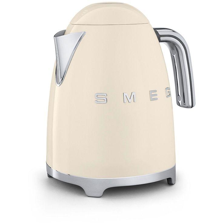 Smeg Kettle KLF01, Cream | Leekes