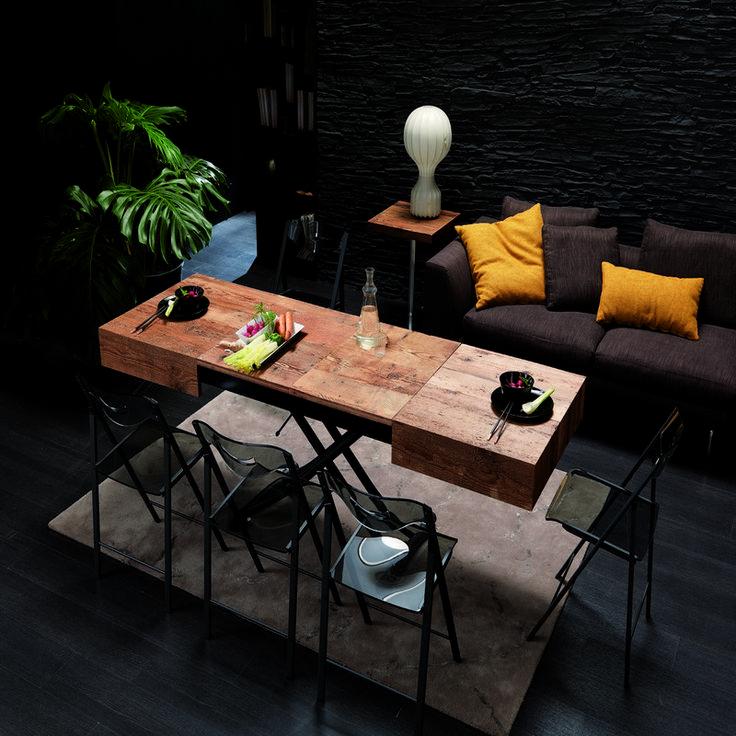 Les 25 meilleures id es de la cat gorie table basse - Table basse qui se transforme en table haute ...