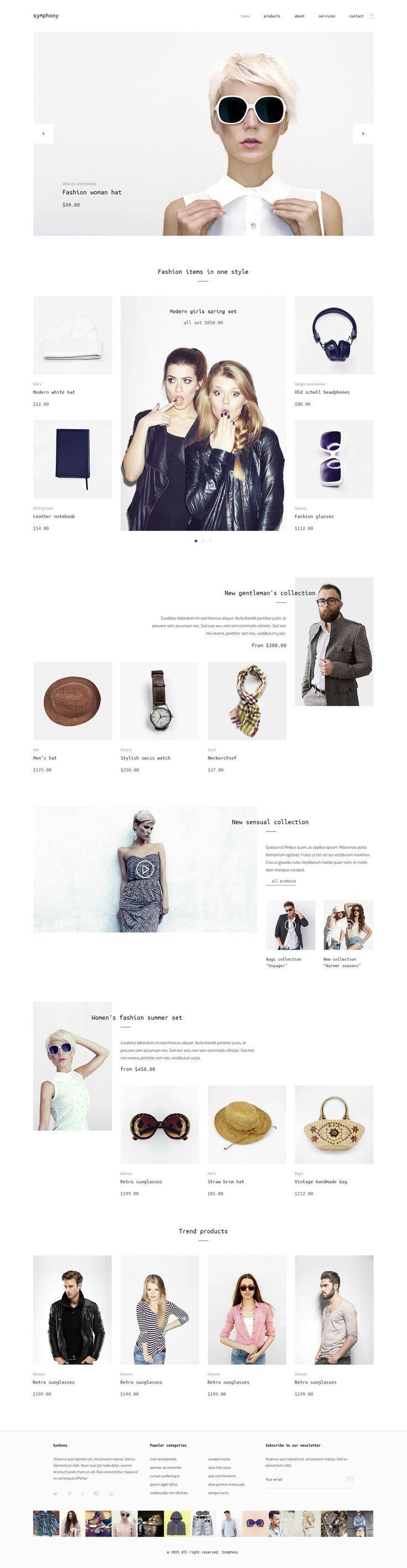 Web design inspiration | #1192
