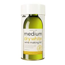 Wilko  Medium Dry White Wine Making Kit           Makes 30 Bottles