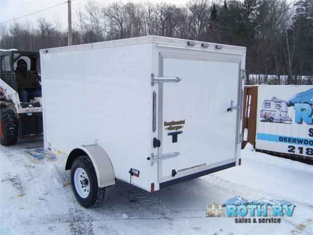 """2016 New Forest River Rv Continental Cargo 5X8 Default in Minnesota MN.Recreational Vehicle, rv, 2016 Forest River RV Continental Cargo 5X8, .024 White Aluminum24"""" Stoneguard"""