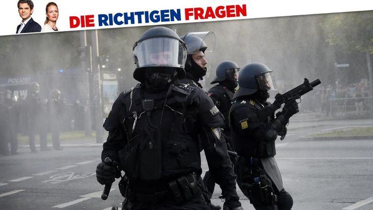 G 20-Polizisten erzählen von ihrem Einsatz beim Total-Debakel | Wir fühlen uns von der Bevölkerung im Stich gelassen