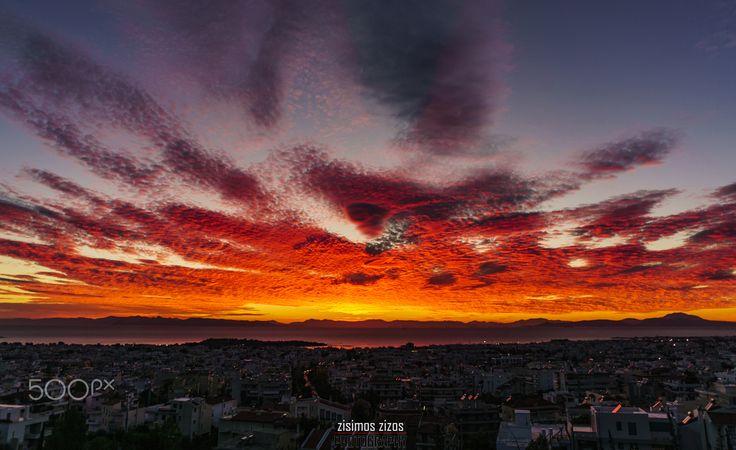 Amazing sunset - The most beautiful sunset ever!!
