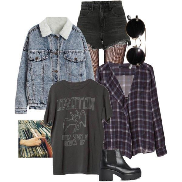 90s grunge by grey-skiess on Polyvore featuring Zara, Alexander Wang, Music Legs and Vagabond