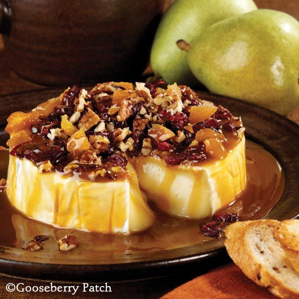Gooseberry Patch Recipes: Jo Ann's Holiday Brie. Super easy to prepare and your guests will love it!