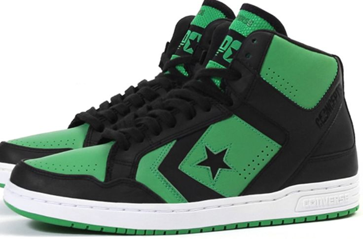 Converse Weapon Mid Black/Clover
