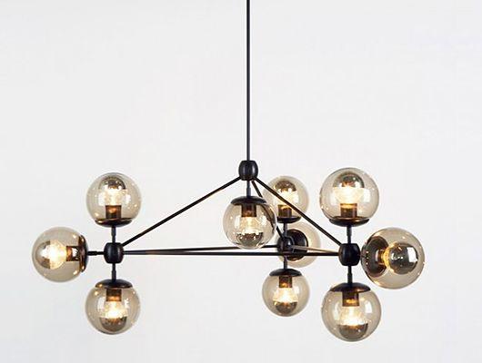 Flos ceiling lamp, by Gino Sarfatti
