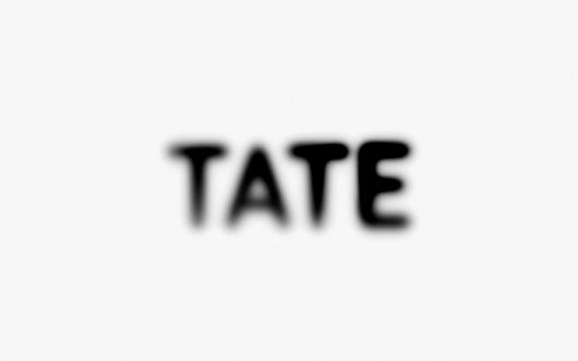 One of my favorite logos! Designspiration — NB: Tate Members Case Study #logo #tate modern #typography