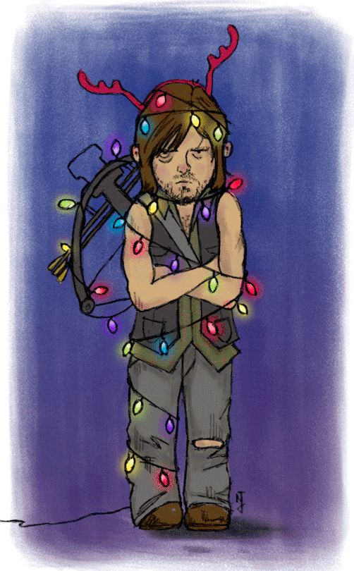 Dasher, Dancer, Prancer, Vixen, Comet, Cupid, Daryl Dixon!
