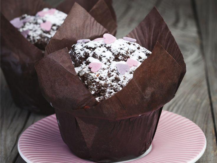 #Muffin al cioccolato per #SanValentino e tante altre idee per la festa degli innamorati!
