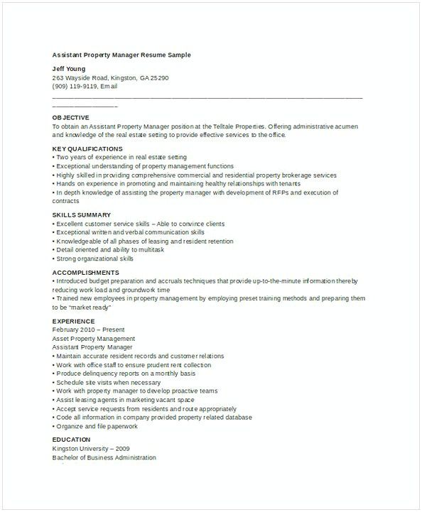 The 25+ best Job resume samples ideas on Pinterest Resume - property assistant sample resume