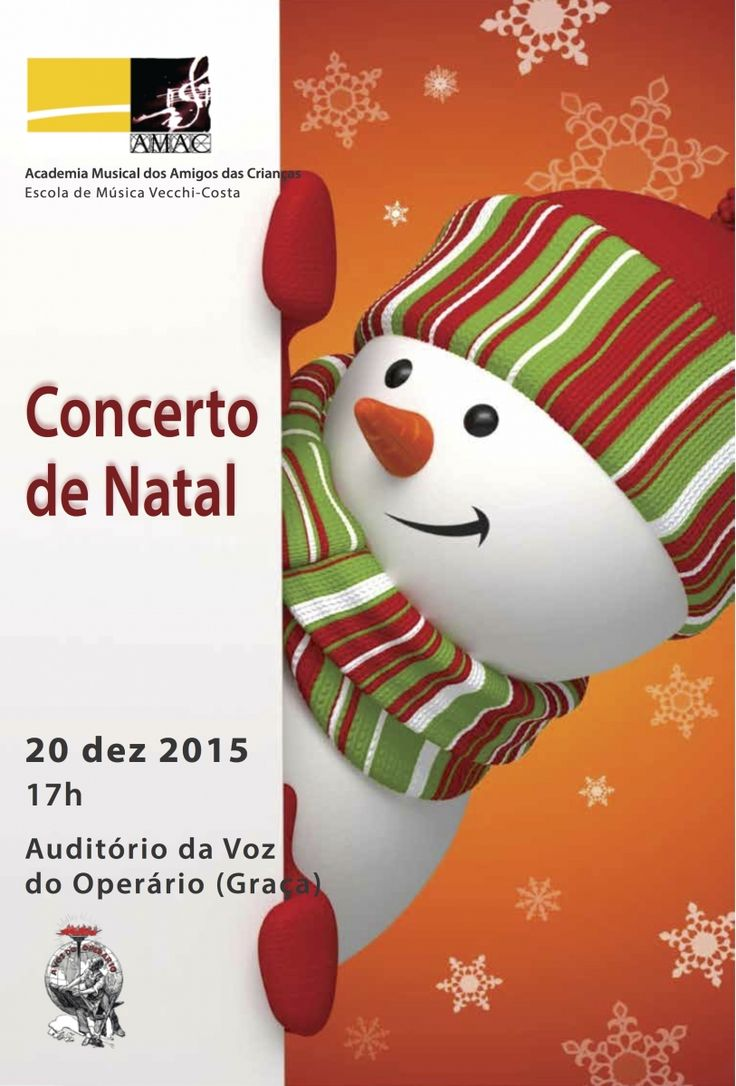 Concerto de Natal da AMAC 2016.