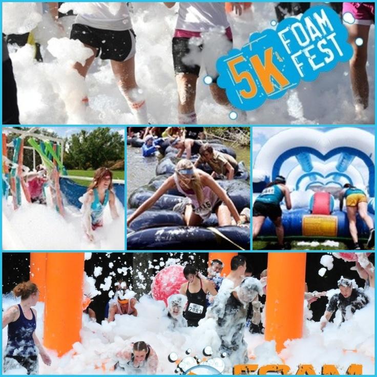 5k foam fest - Canada // this was a fantastic accomplishment !