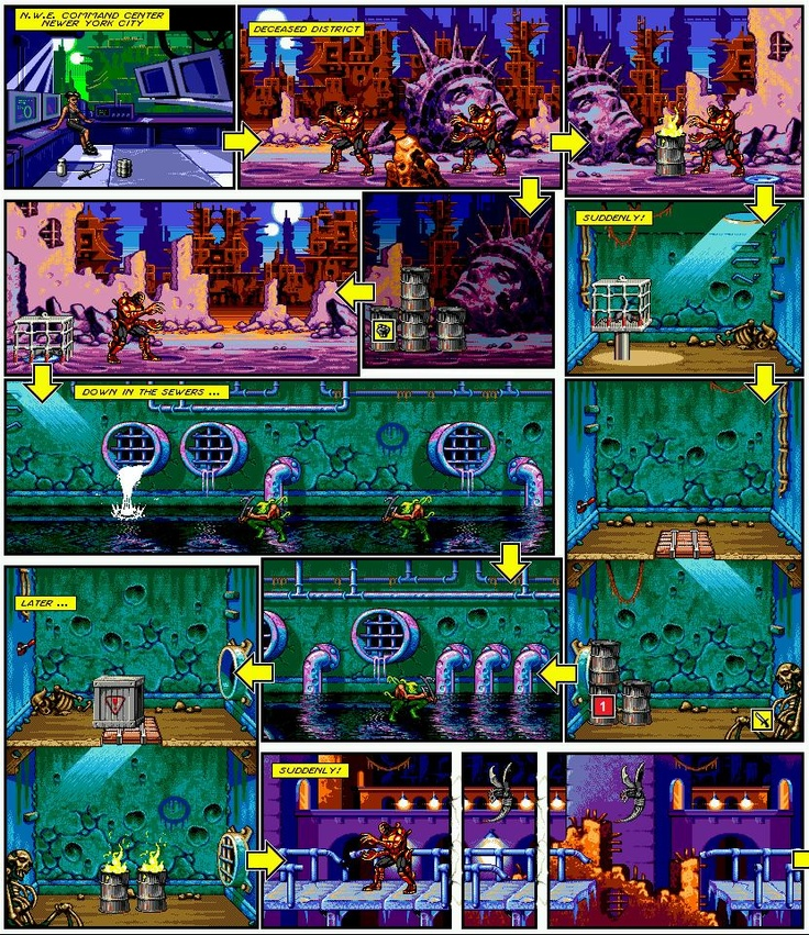 [Análise Retro Game] - Comix Zone - Genesis 1c2930017288bf24f5fa35d5f539c31c--silver-pen-gaming